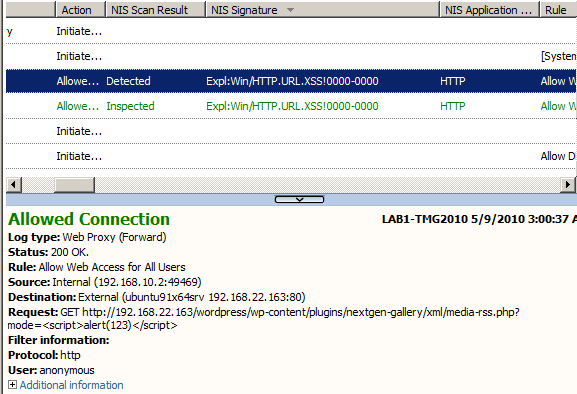 A Quick Look at the Expl:Win/HTTP URL XSS!0000-0000 Signature from