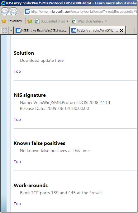Adrian Dimcev's Blog | Forefront TMG Beta 3 NIS – Signature